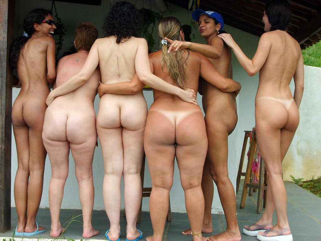 Nude butt naked ass
