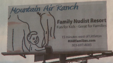 Mountain Air Ranch. Billboard photo