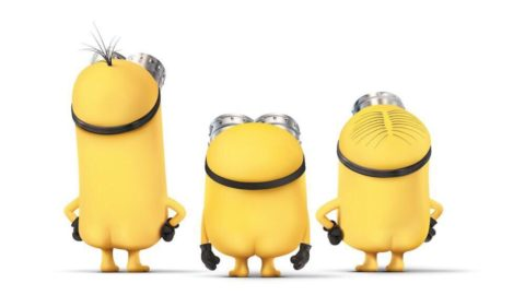 How the minions spent national nude day