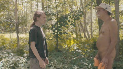 Brendan Canning music video featuring bare oaks naturist park