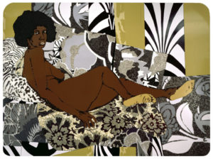 """A Little Taste Outside of Love"" 2007 - Mickalene Thomas"