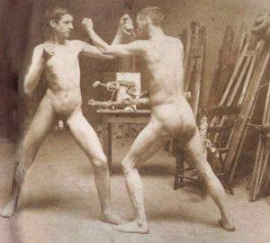 Thomas Eakins Two Boys Boxing in Atelier https://commons.m.wikimedia.org/wiki/Thomas_Eakins#