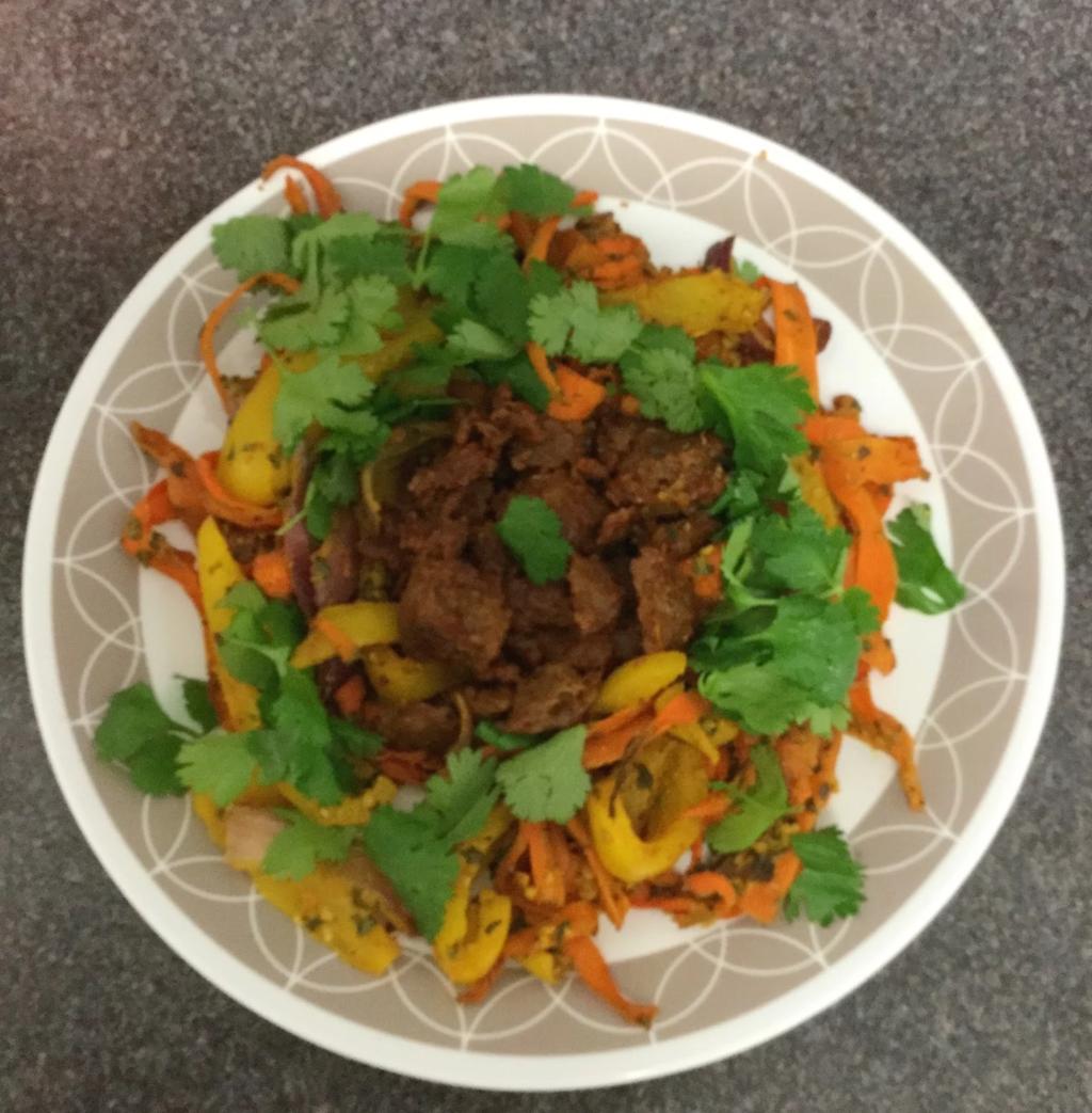 vegetable sietan Recipe