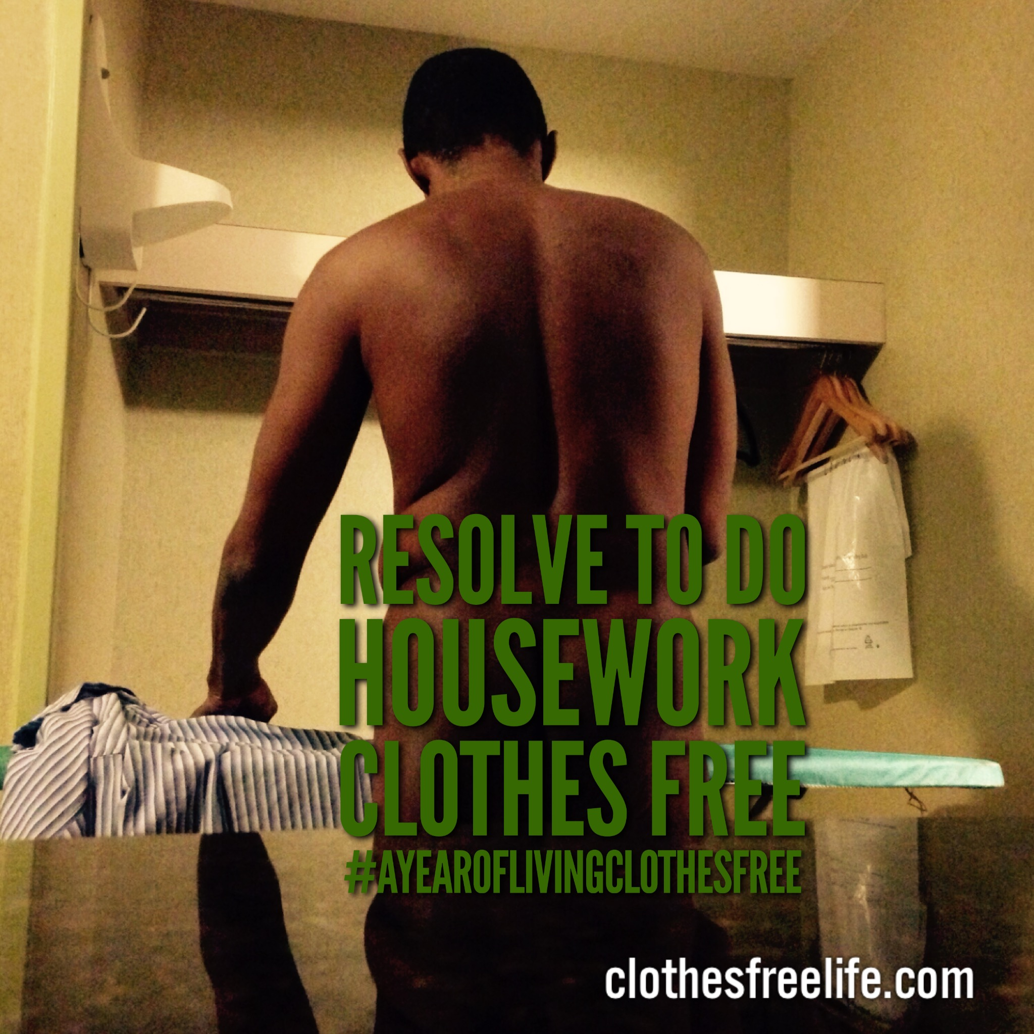 Iron clothes free