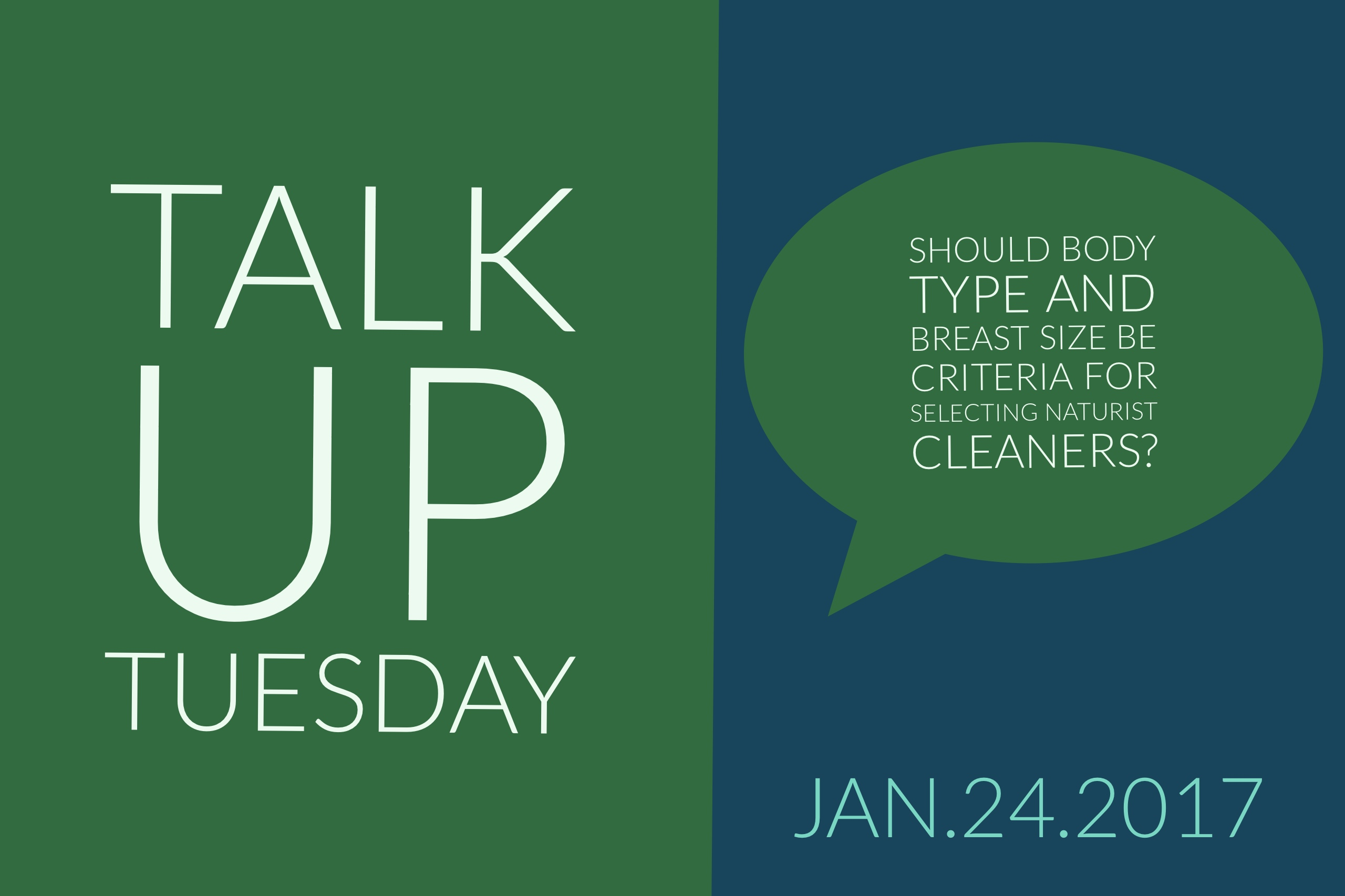 Talk up Tuesday Jan 24 2017