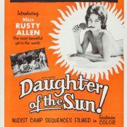 "Poster for the movie ""Daughter of the Sun"""