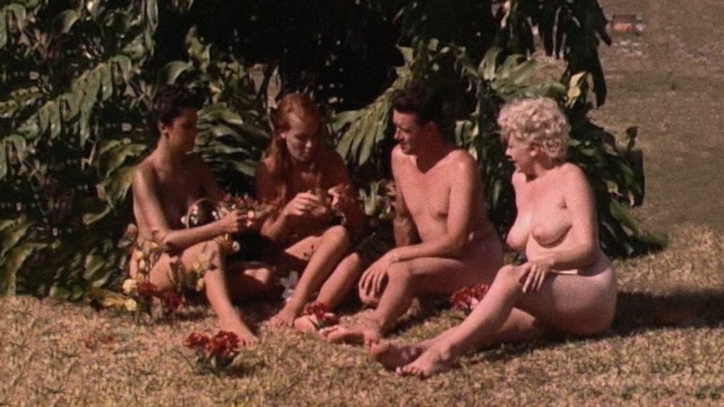 """Image from the movie """"Diary of a Nudist"""""""