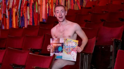 We went to Britain's first nude only play… and it was a rousing performance (via The Sun)