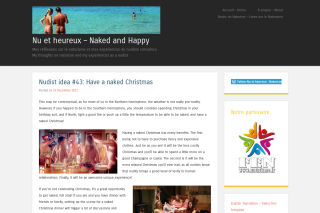 Nu et heureux – Naked and Happy