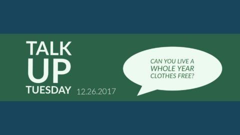 Can you live a whole year clothes free?